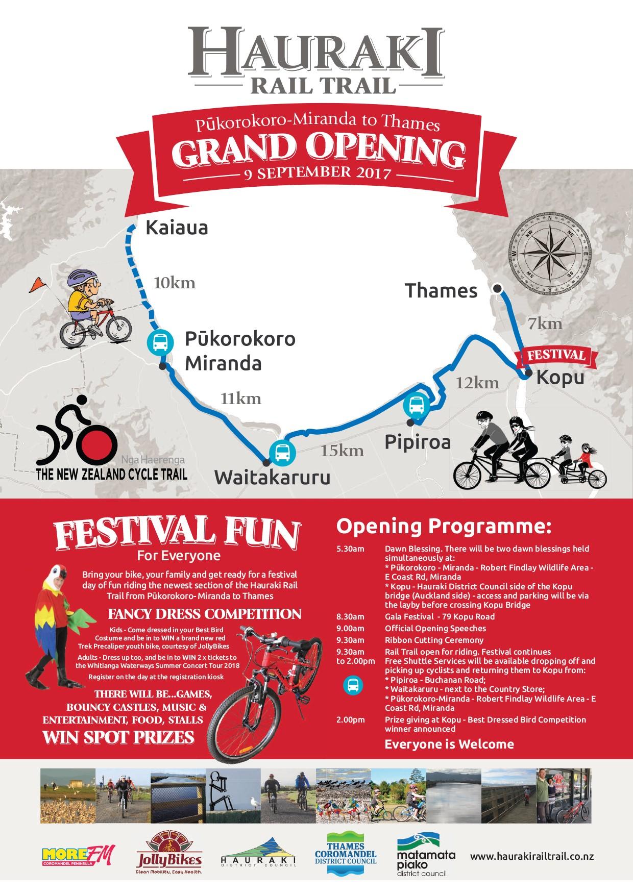 Hauraki Rail Trail Grand Opening